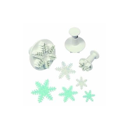 1 Snowflake Small Plunger Cutter