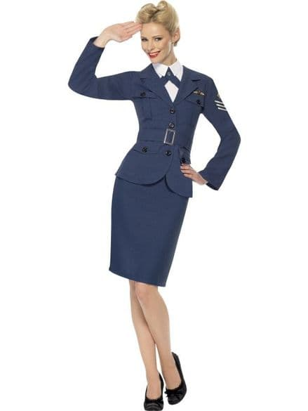1940's Female Air Force Captain Costume