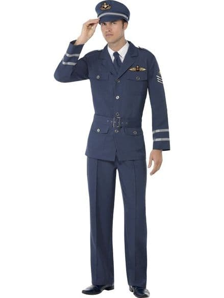 1940's Male Air Force Captain Costume