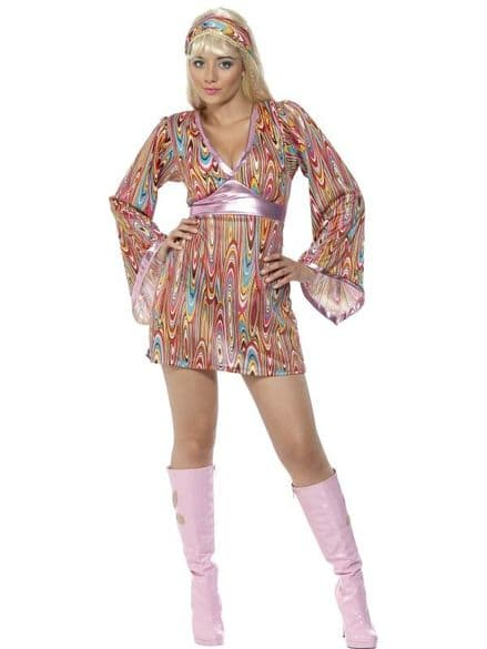 1960's Hippy Hottie Costume