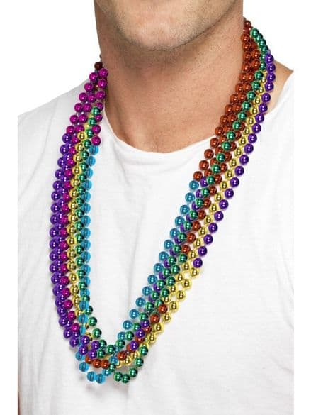 1980's 6 Party Beads