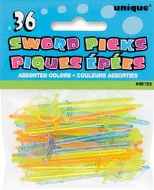 36 Plastic Sword Picks