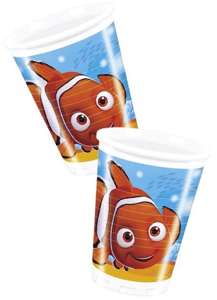 8 Finding Nemo Theme Plastic Party Cups