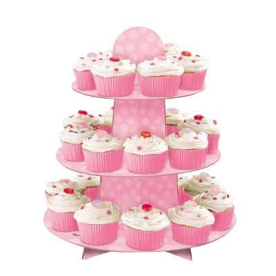 Baby Pink Cupcake Stand