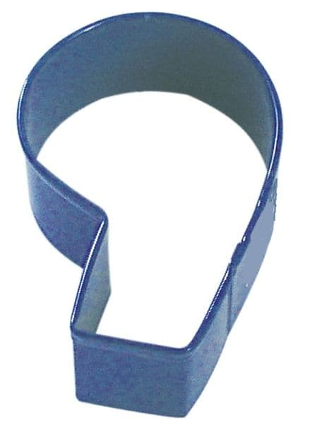 Blue Number Six/Nine Cookie Cutter