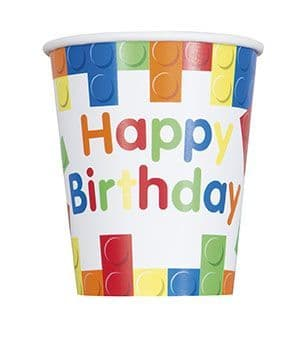 Build Block Party Paper Party Cups