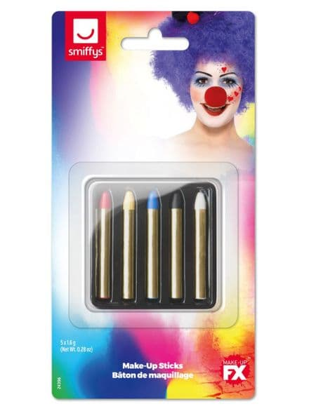 Carnival Grease Paints Make-up Sticks
