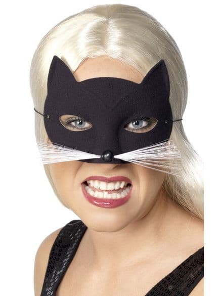 Cat Mask With Whiskers