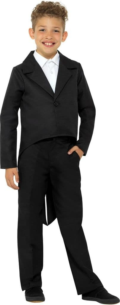 Childs Black Tailcoat