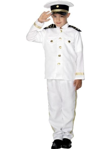 Childs Captain Costume