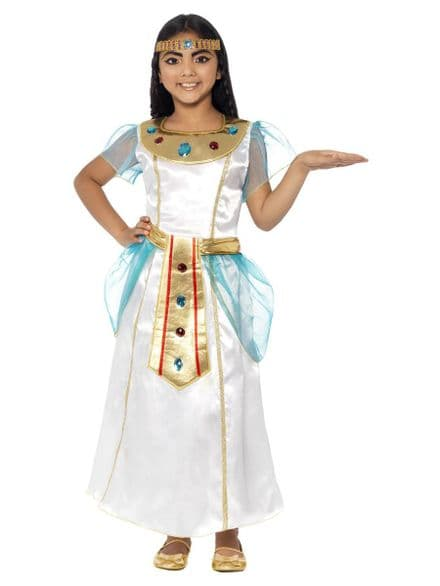 Childs Deluxe Cleopatra Girl Costume