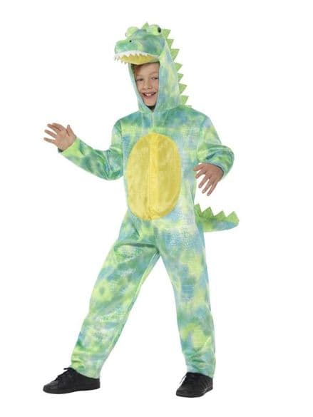 Childs Deluxe Dinosaur Costume