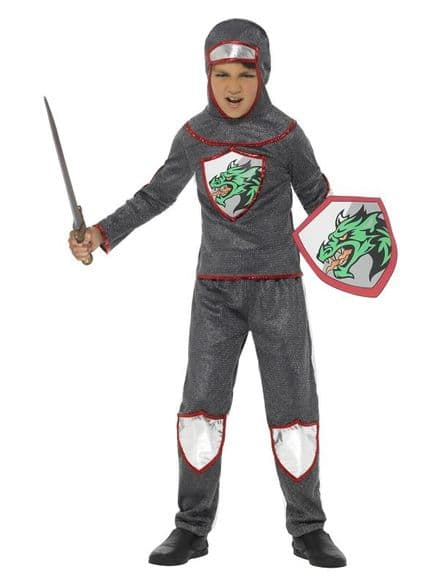 Childs Deluxe Knight Costume