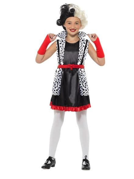 Childs Evil Little Madame Costume