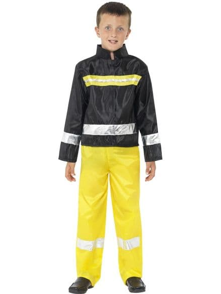 Childs Fireman Costume