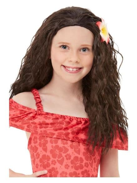 Childs Hawaiian Princess Wig