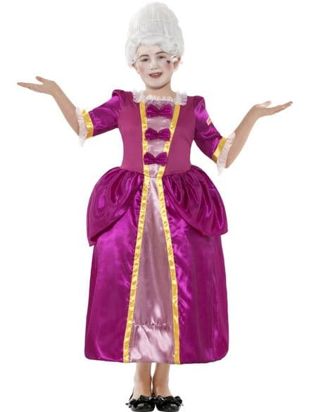 Childs Horrible Histories Georgian Girl Costume