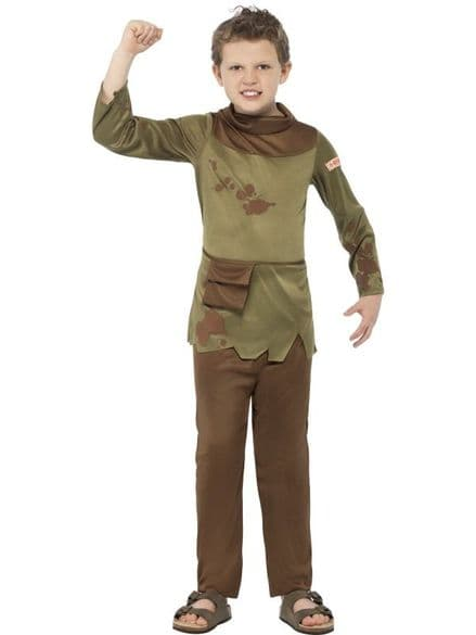 Childs Horrible Histories Revolting Peasant Boy Costume