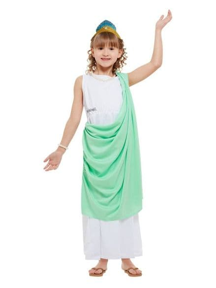 Childs Horrible Histories Roman Girl Costume