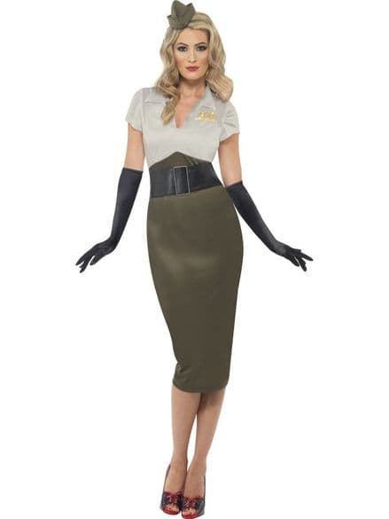 Dad's Army Spice Darling Costume