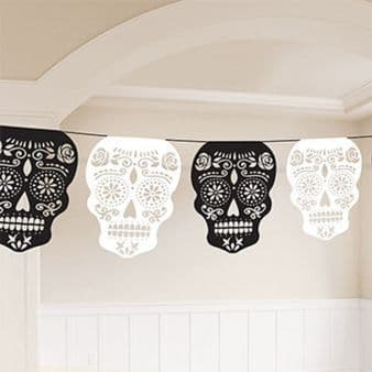 Day Of The Dead Skull Garlands