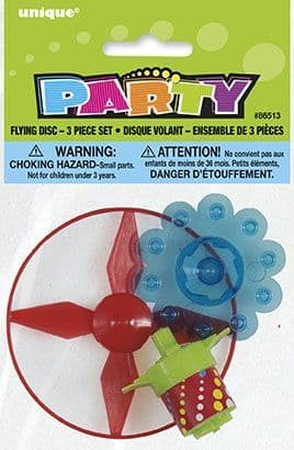 Disc Flying Toy and Spinning Top
