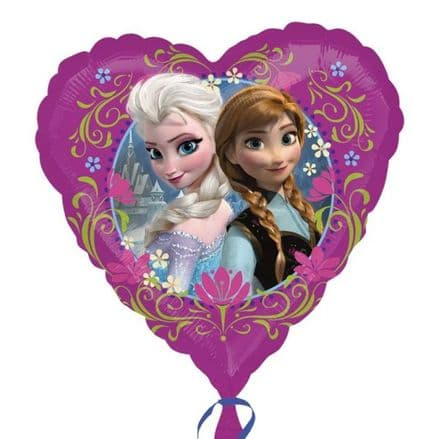 Disney Frozen Heart Foil Helium Balloon