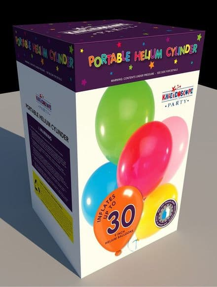 """Disposable Helium Canister for 30 9"""" Balloons"""