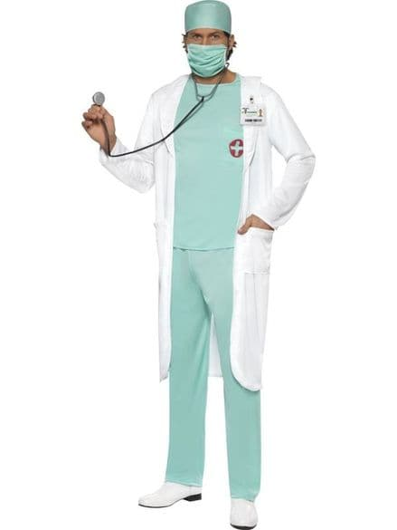 Doctor with Name Tag Costume