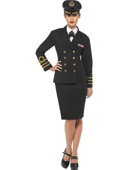Female Navy Officer Costume