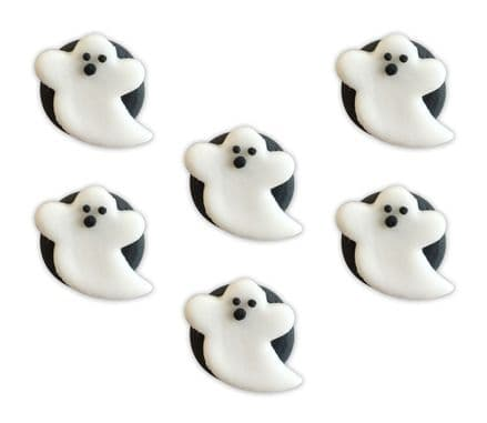 Ghosts Sugar Decorations