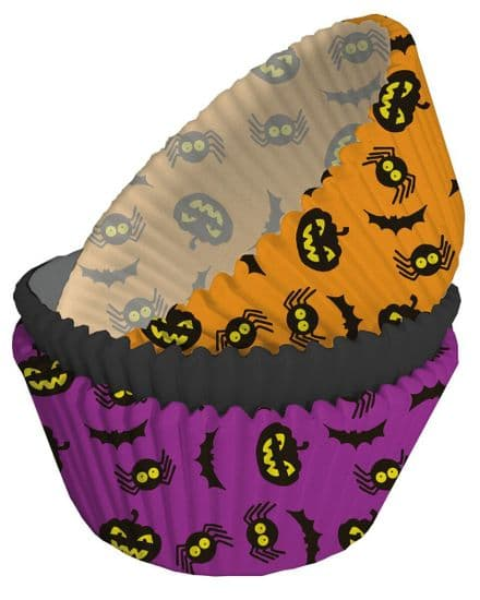 Halloween Baking Cases