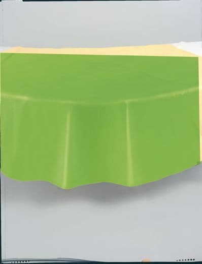 """Lime Green Round Tablecover 84""""/ 213cm Diameter"""
