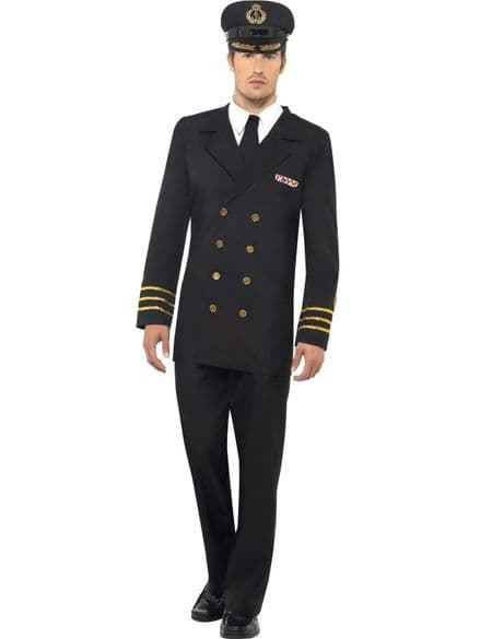 Male Navy Officer Costume