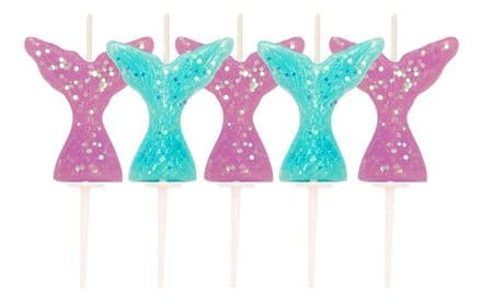 Mermaid Tails Candles