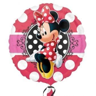 Minnie Mouse Foil Helium Balloon