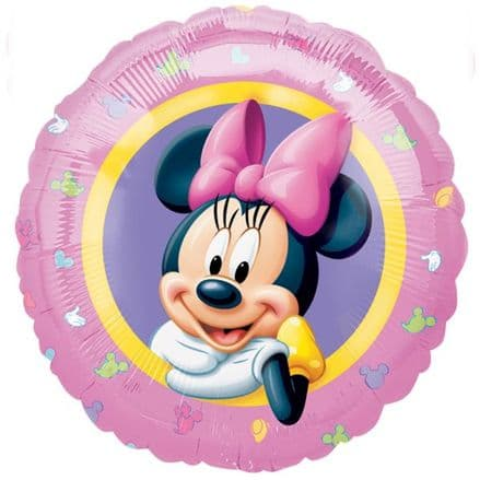 Minnie Mouse Pink Foil Helium Balloon