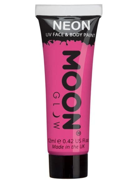 Moon Glow Neon UV Body & Face in Intense Pink