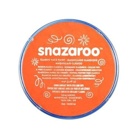 Snazaroo Classic Face Paint - Orange
