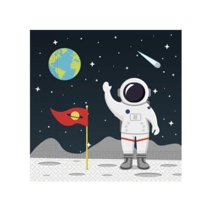 Space Paper Party Napkins