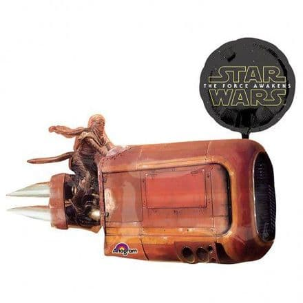 Star Wars Rey's Landspeeder Super Shape Foil Balloon