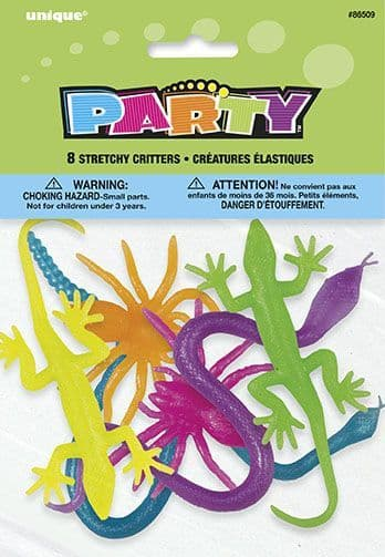 Stretchy Critters 8PK