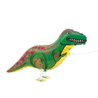 Walking Pet Dinosaur Helium Balloon