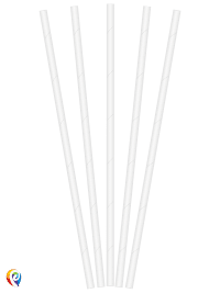 White Paper Drinking Straws