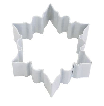 White Small Snowflake Cookie Cutter