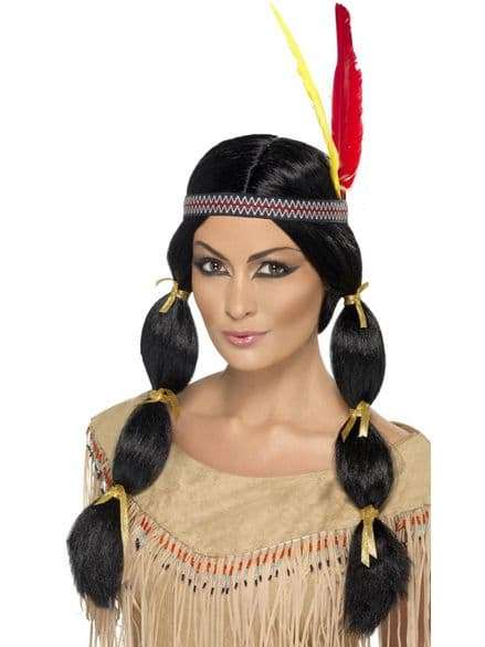 Wild West Indian Bunches Wig