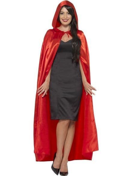 Wings & Wishes Red Hooded Cape
