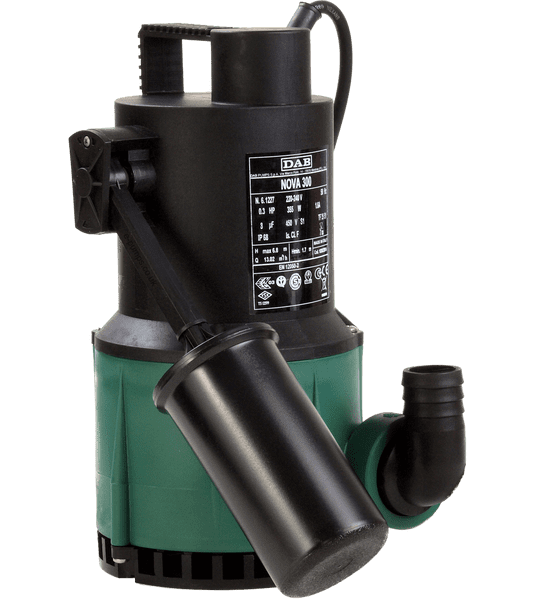 DAB Nova 300 M-A Automatic Submersible Pump