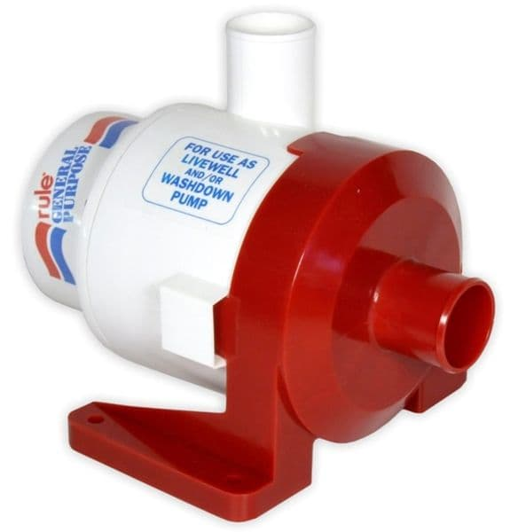 Jabsco 18A Rule 3800 General Purpose Pump 24 volt DC