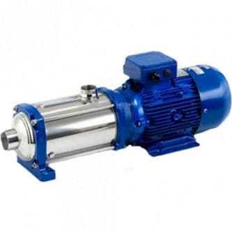 Lowara e-HM Horizontal Multistage Pumps in Stainless Steel